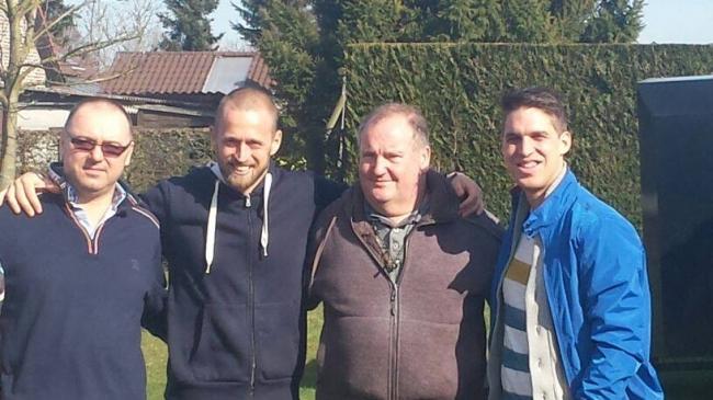 The visit at Dirk van Dick