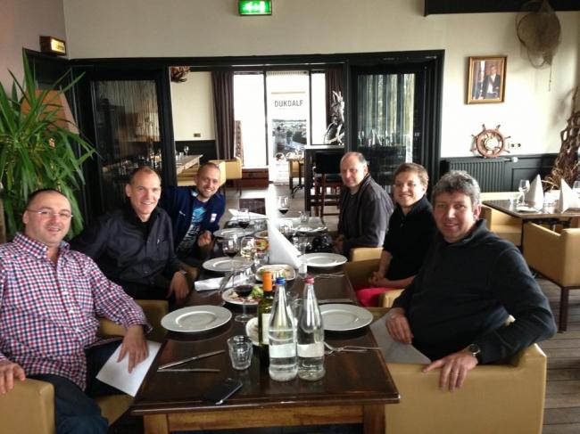 Florea Sorin , Jan Hooymans , Dinu Mihai , Freddy Vandenheede , Nikolaas Gyselbrecht and Vincent van de Kerk