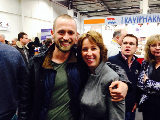 Together with Chantal Vredeveld (Houten)