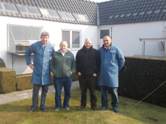 Vincent van de Kerk , Jaques Vandenheede , Freddy Vandenheede and Florea Sorin