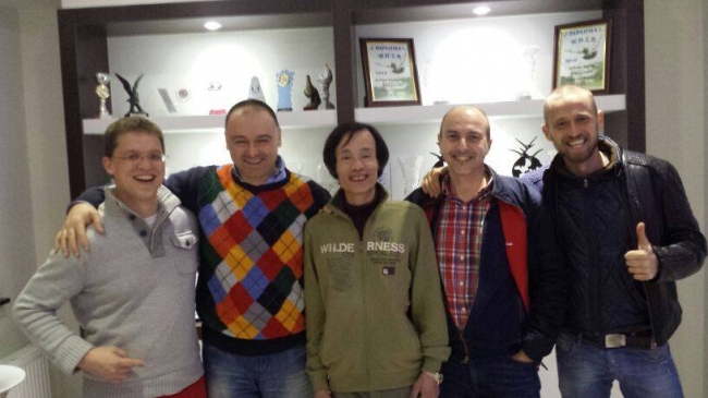 Nikolaas Gyselbrecht , Florea Sorin , Yong Lin , Hugo Batenburg and Dinu Mihai