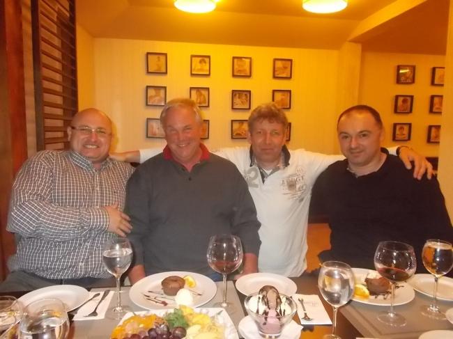 Gyany Antonescu , Klaus Stieneker , Vincent van den Kerk and Florea Sorin