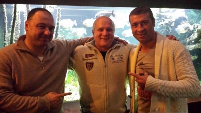 Florea Sorin , Andreas Drapa and Lucian Bute